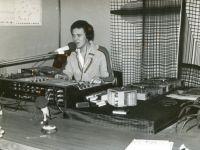 03 Sede Radio Bruno 1976 Sala trasmissioni