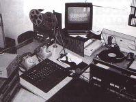 studi radio vergante anni 80
