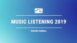 Ifpi copertina music listening 2019 ITA