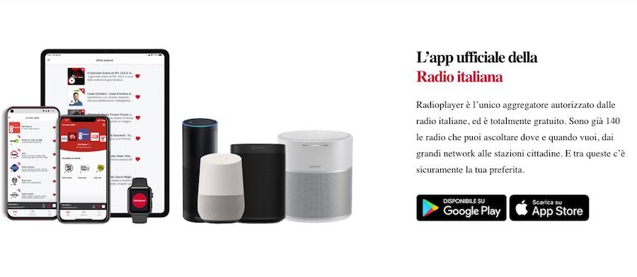 app Radioplayeritalia